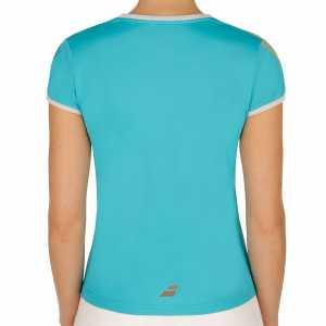 Женская футболка Babolat Performance 2017 Цвет Бирюзовый 2WS17031-139