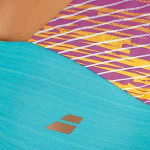 Женская майка Babolat Performance Racerback Цвет Бирюзовый 2WS17072-139