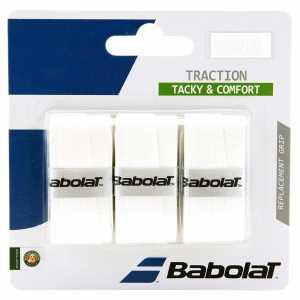 Обмотки Babolat Traction 3шт Цвет Белый 653043-101