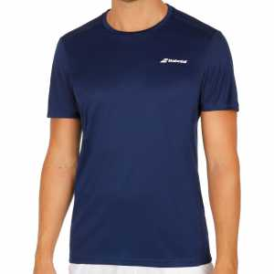 Мужская футболка Babolat Core Flag Club 2018 Цвет Сумеречно синий 3MS18011-4000