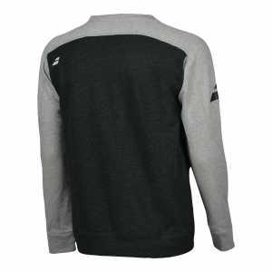 Мужская утепленная футболка Babolat Core Цвет Меланж серый 3MS18042-3002