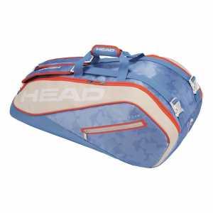 Сумка Head Tour Team Supercombi 9R Цвет Голубой/Белый 283118