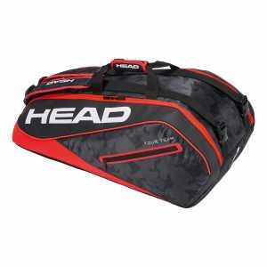 Сумка Head Tour Team Supercombi 9R Цвет Черный/Красный 283118