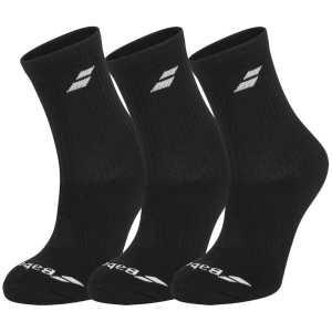 Носки 3 пары Babolat Цвет Черный/Черный 5UA1371-2000