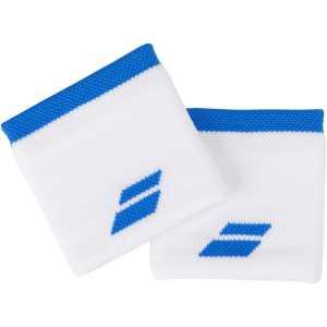 Напульсники Babolat Logo 2020 Цвет Белый/Синяя астра 5UA1261-1030
