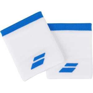 Напульсники Babolat Logo Jumbo 2020 Цвет Белый/Синяя астра 5UA1262-1030