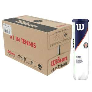Wilson Roland Garros All court 4шт - коробка 72 мяча WRT116400