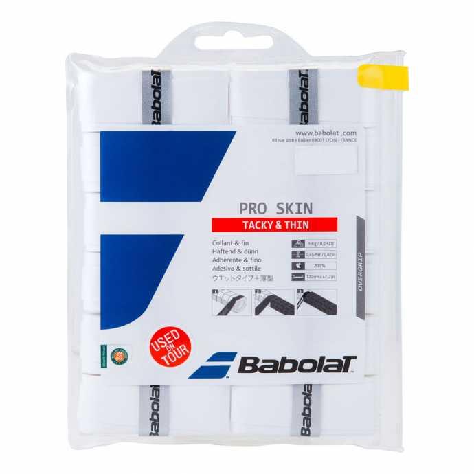 Обмотки Babolat Pro Skin 12шт 654008