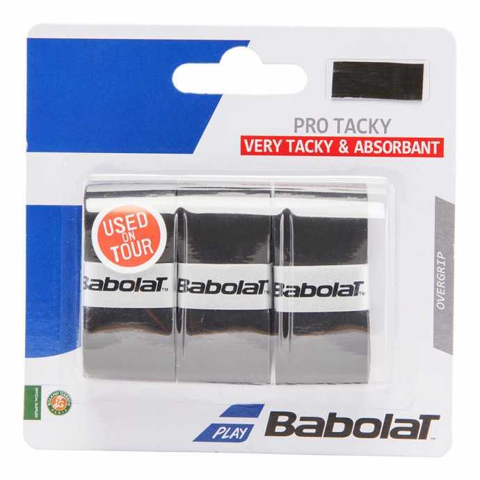 Обмотки Babolat Pro Tacky 3шт Цвет Черный 653039-105