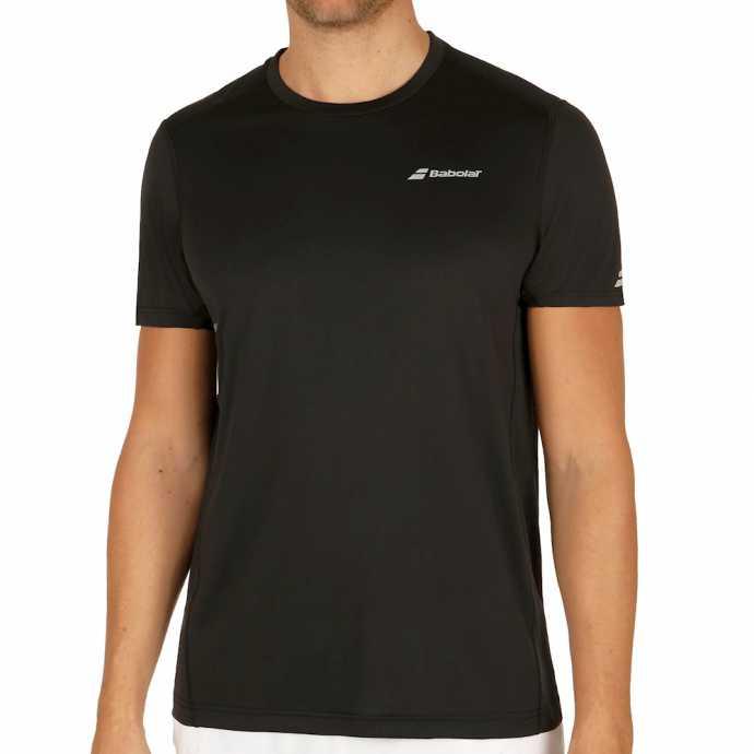 Мужская футболка Babolat Core Flag Club Цвет Черный 3MS17011-105