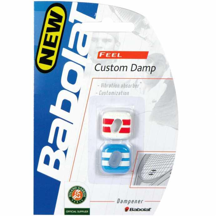Виброгаситель Babolat Custom Damp 2шт Цвет Красный/синий 700024-143
