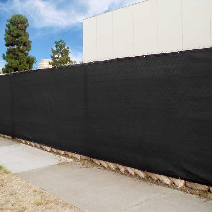 Ветрозащитный фон 2.75х16 метра, США, черный TE163US