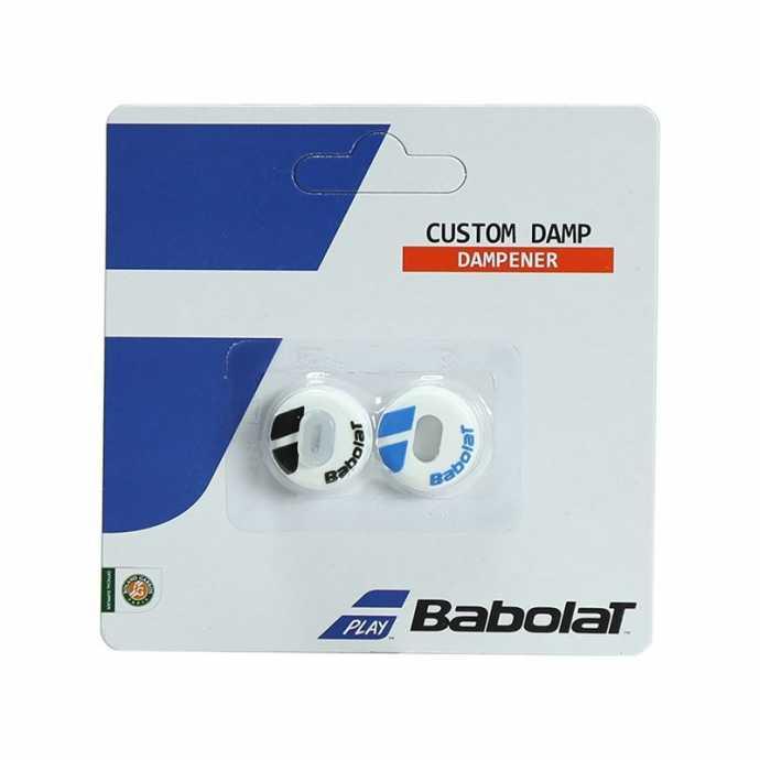Виброгаситель Babolat Custom Damp 2шт Цвет Белый/Синий 700040-153