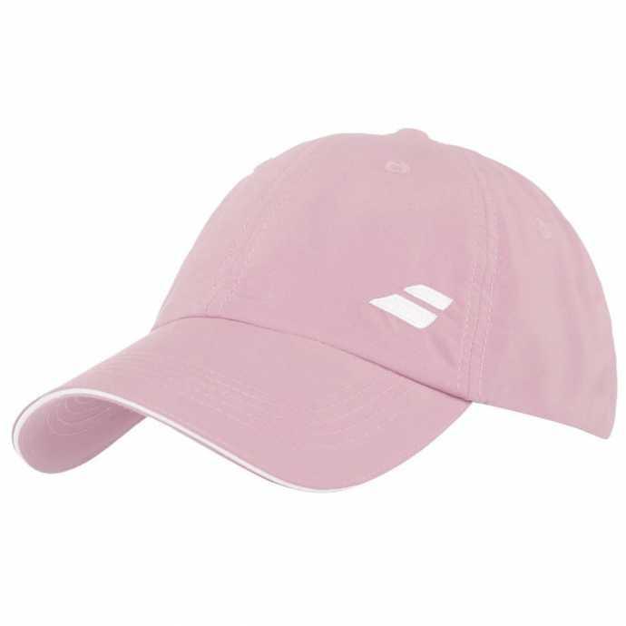 Бейсболка Babolat Basic Logo Цвет Светло-розовый 5US18221-5009