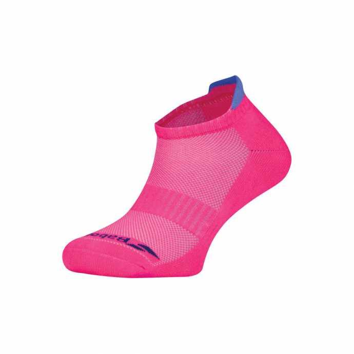 Носки женские 2 пары Babolat Invisible 2018 Цвет Фанданго розовый/Веджвуд (фиалковый) 5WS18361-5011