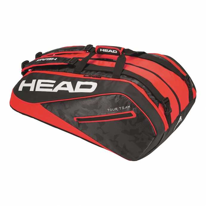 Сумка Head Tour Team Monstercombi 12R Цвет Черный/Красный 283108