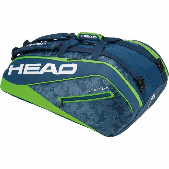 Сумка Head Tour Team Monstercombi 12R Цвет Зеленый 283108