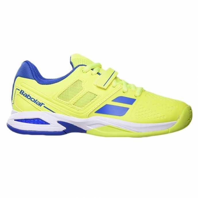 Детские кроссовки Babolat Propulse All court (31 - 35.5) Цвет Желтый/Голубой 32S16478-228