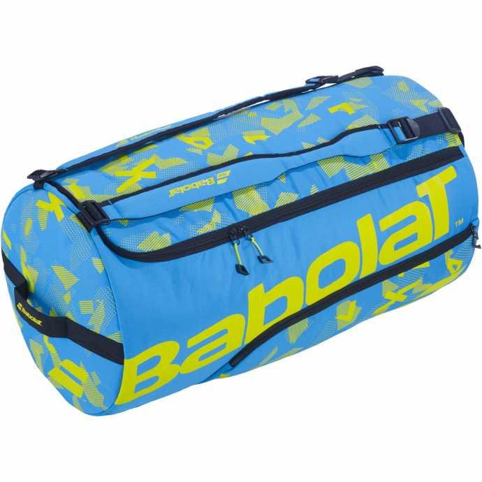 Спортивная сумка Babolat Duffel XL Цвет Синий/желтый лайм 758000-325