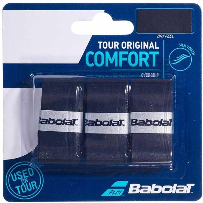 Обмотки Babolat Tour Original 3шт Цвет Чёрный 653047-105