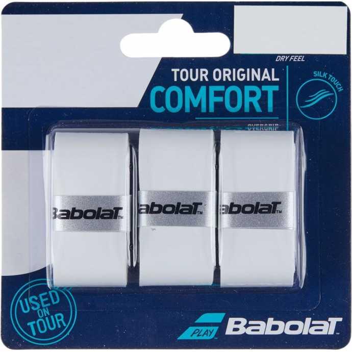 Обмотки Babolat Tour Original 3шт Цвет Белый 653047-101