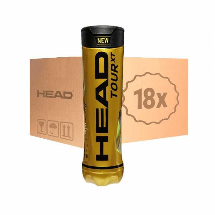 HEAD Tour XT 4шт - Коробка 72 мяча 570824