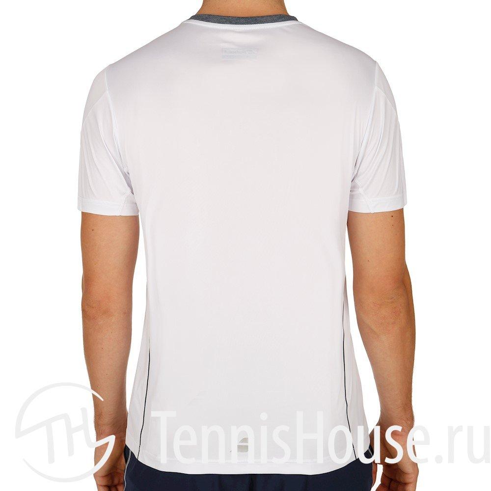 Мужская футболка Babolat Crew Neck Performance 2017 Цвет Белый 2MS17011-101