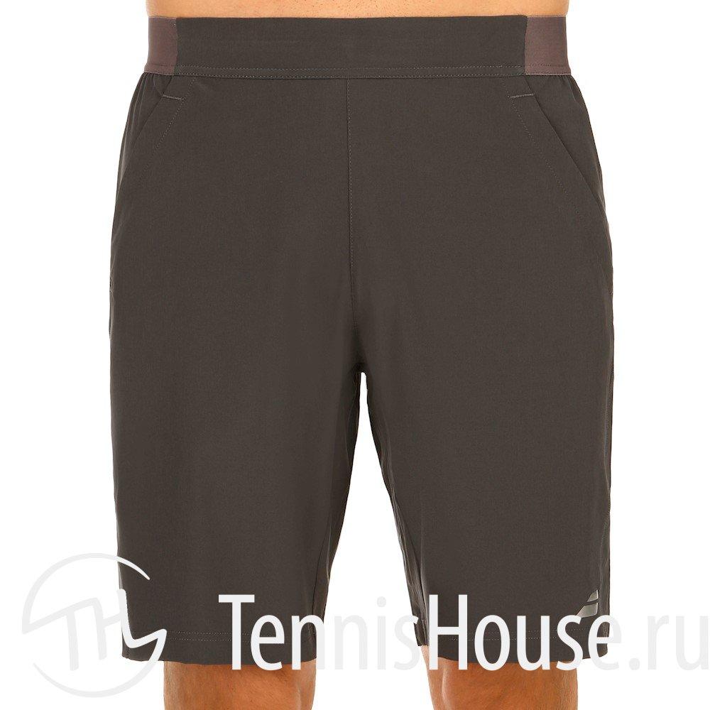 Мужские шорты Babolat Long Performance 2017 Цвет Темно-серый 2MS17051-115