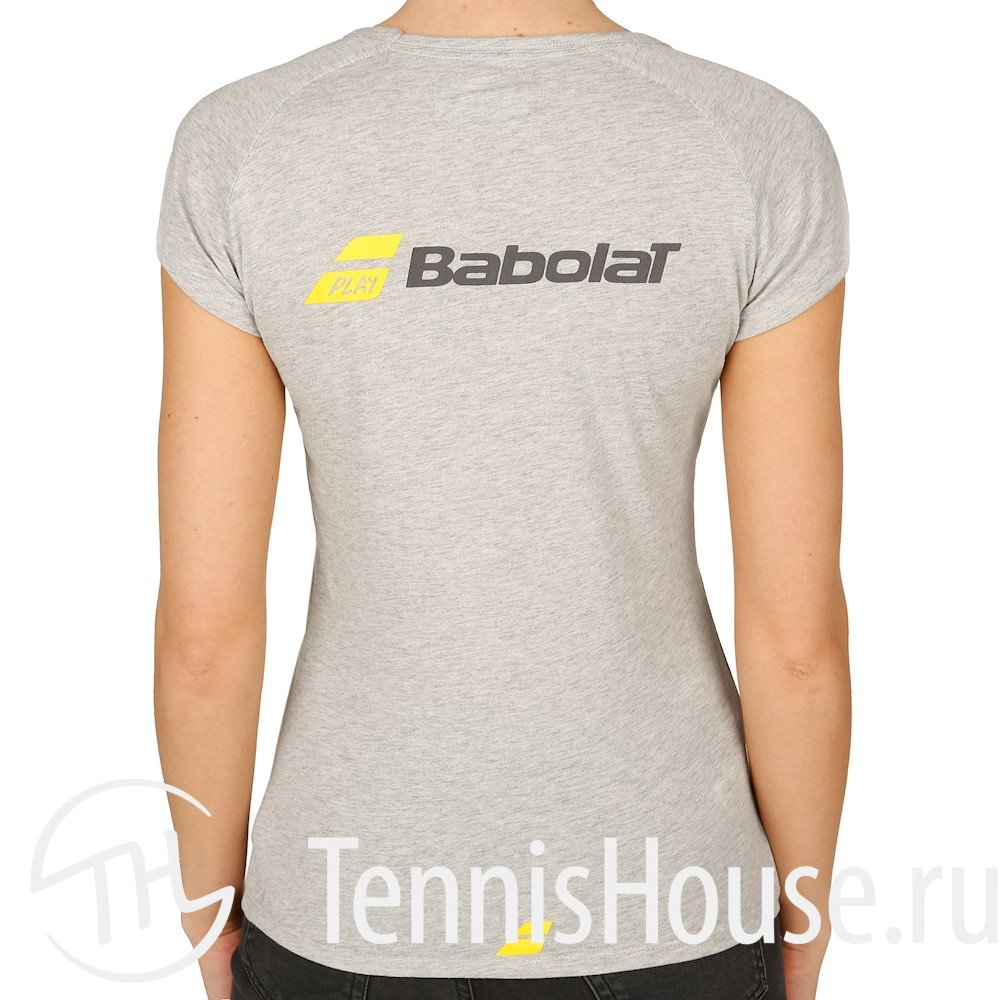Женская футболка Babolat Core Цвет Серый 3WS17012-107