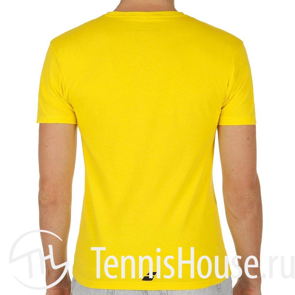 Мужская футболка Babolat Core Pure 3MS17013