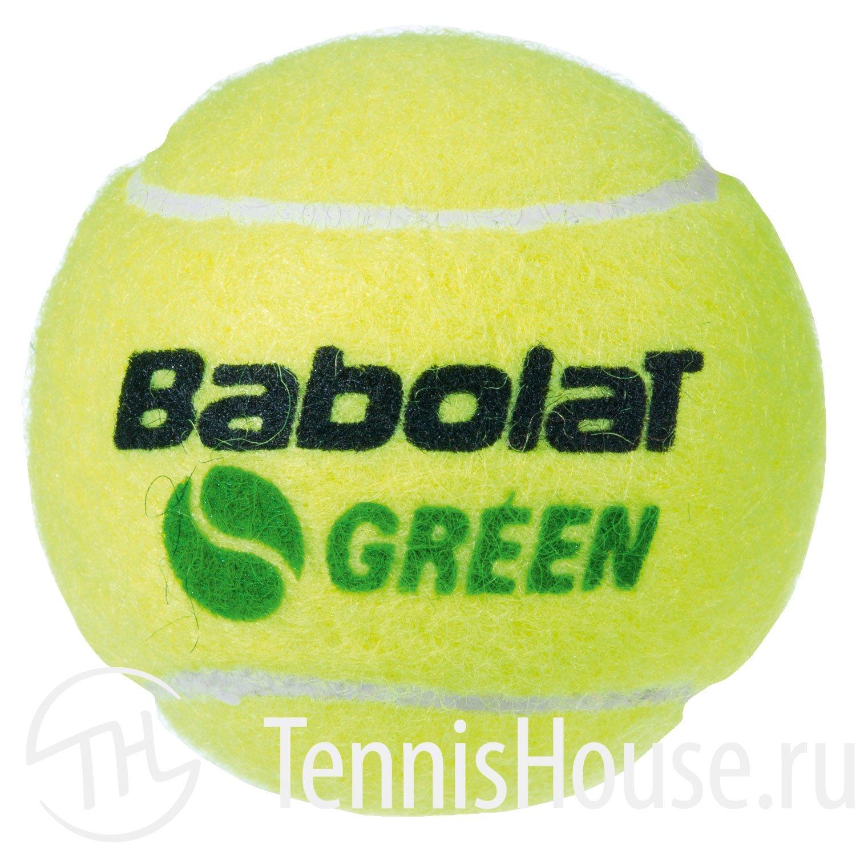 Babolat Green ведро 72 мяча 514006