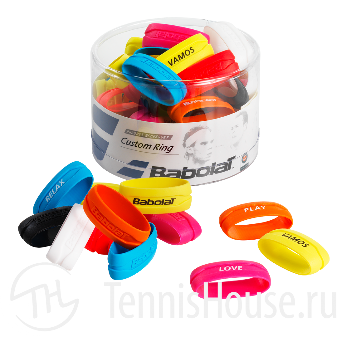 Кольцо на ручку ракетки Babolat Custom Ring 60шт 710026