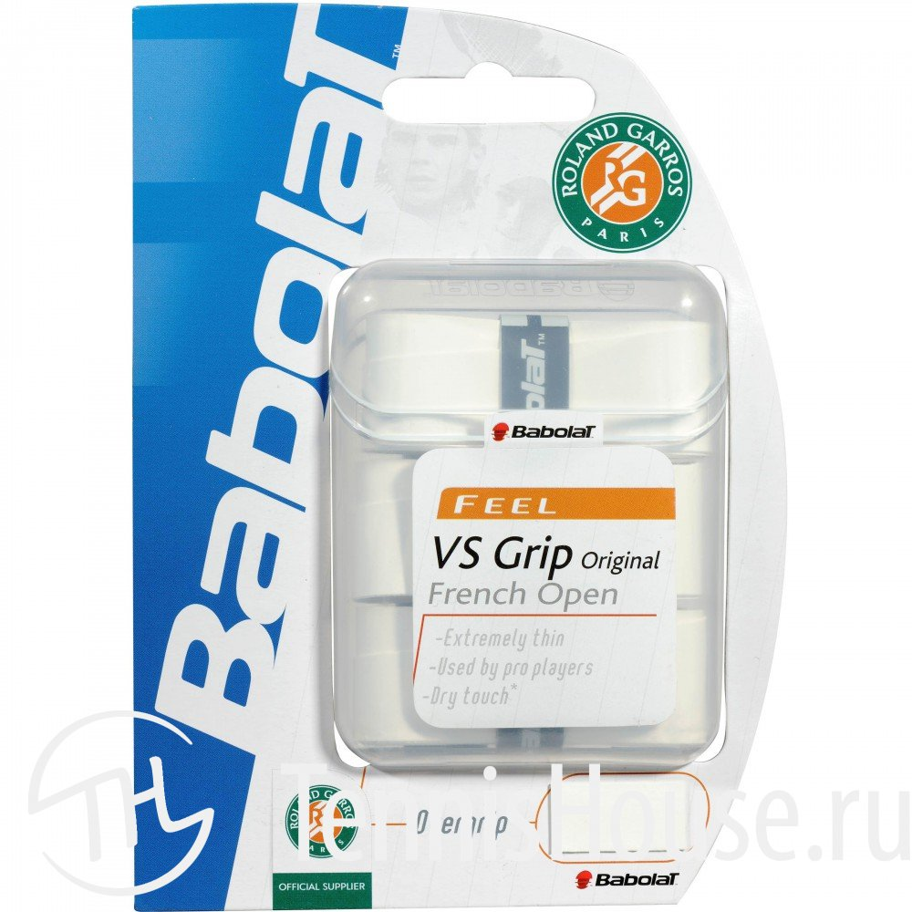 Обмотки Babolat VS Grip Original French Open 3шт 653022