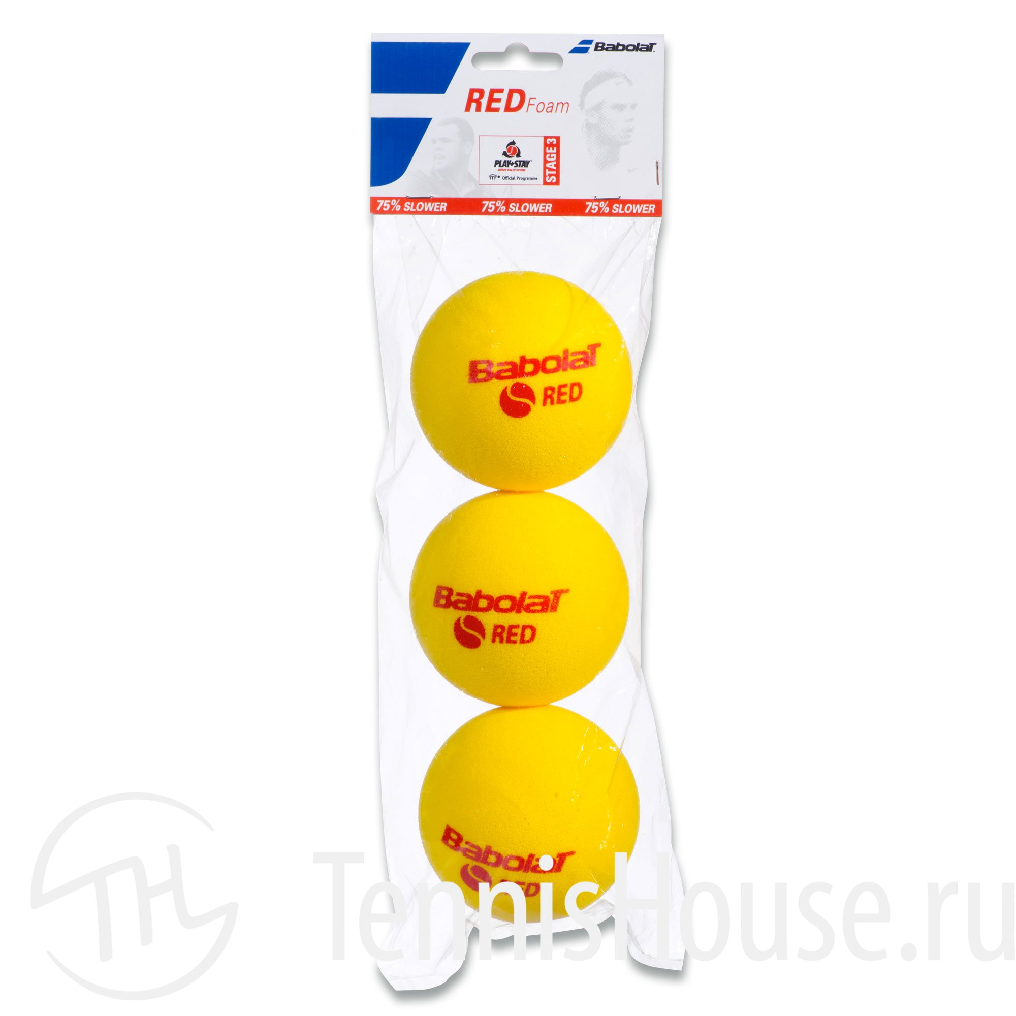 Babolat Red Foam 3шт 501037