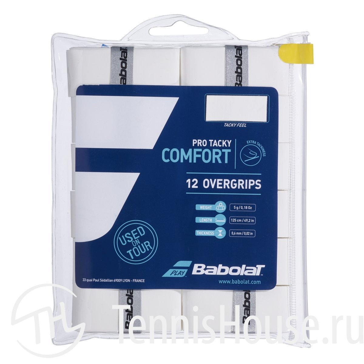 Обмотки Babolat Pro Tacky 12шт 654009