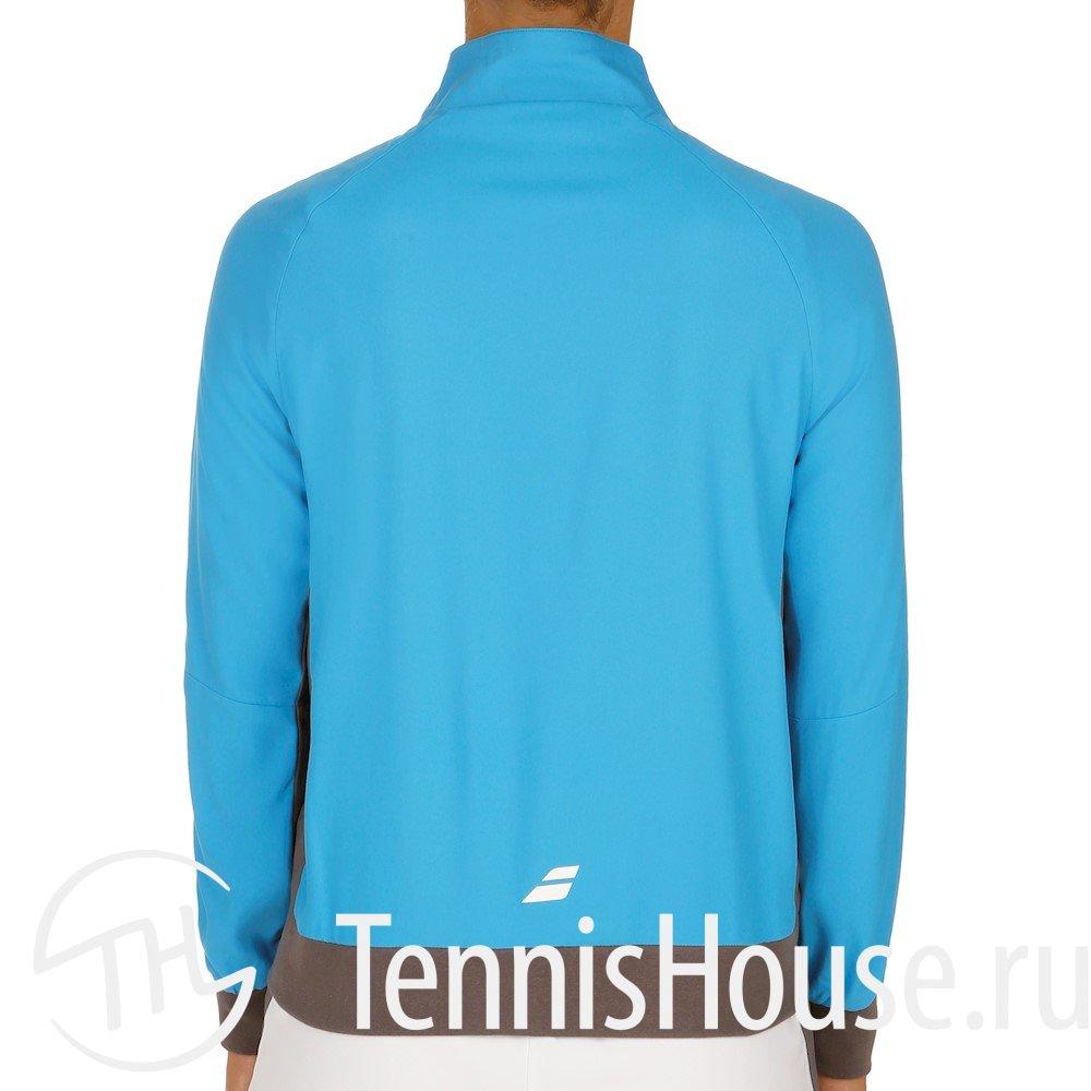 Куртка для девочки Babolat Core Club 2017 Цвет Яркий голубой 3GS17121-132