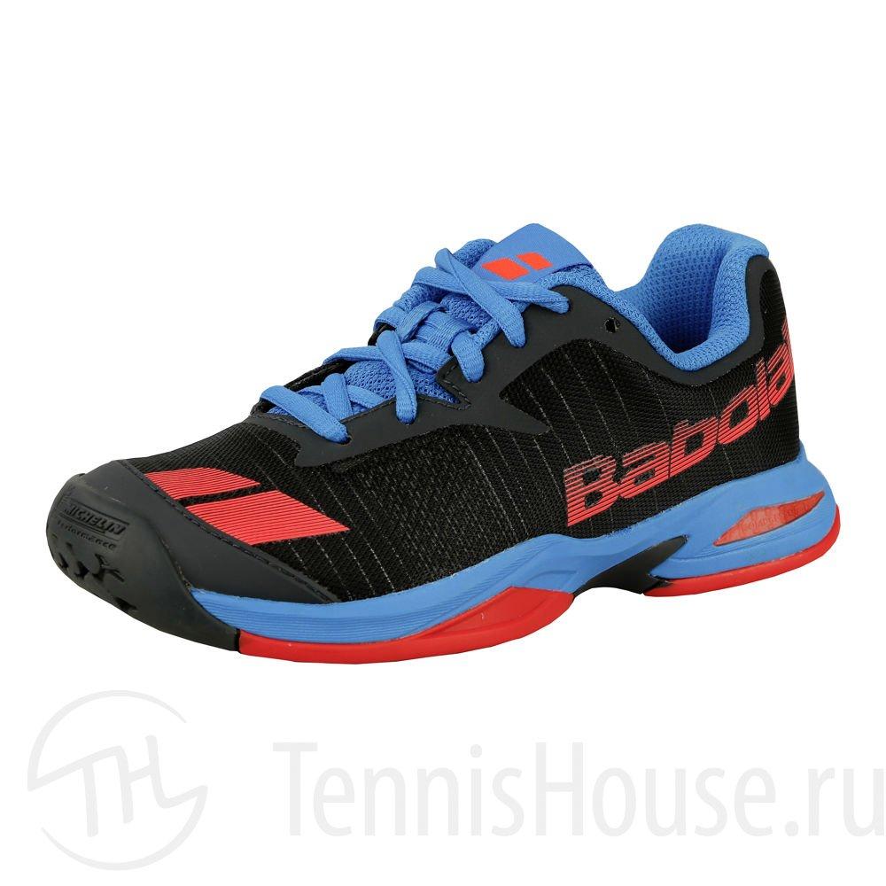 Детские кроссовки Babolat Jet All Court (31-35.5) Цвет Серый/Красный/Синий 32S17648-256