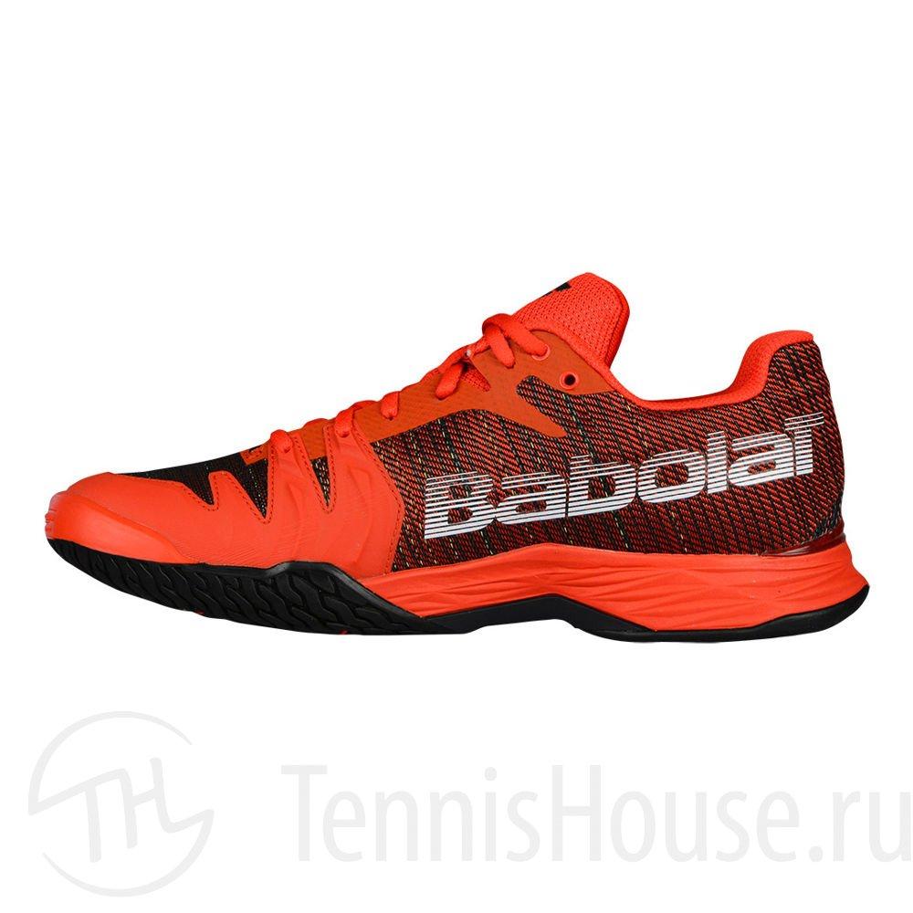 Кроссовки мужские Babolat Jet Mach II All court Цвет Оранжевый/Черный 30S18629-6008