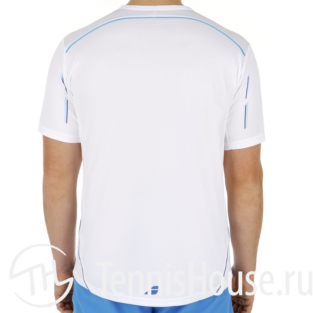 Мужская футболка Babolat Match Core Цвет Белый 40S1411-101