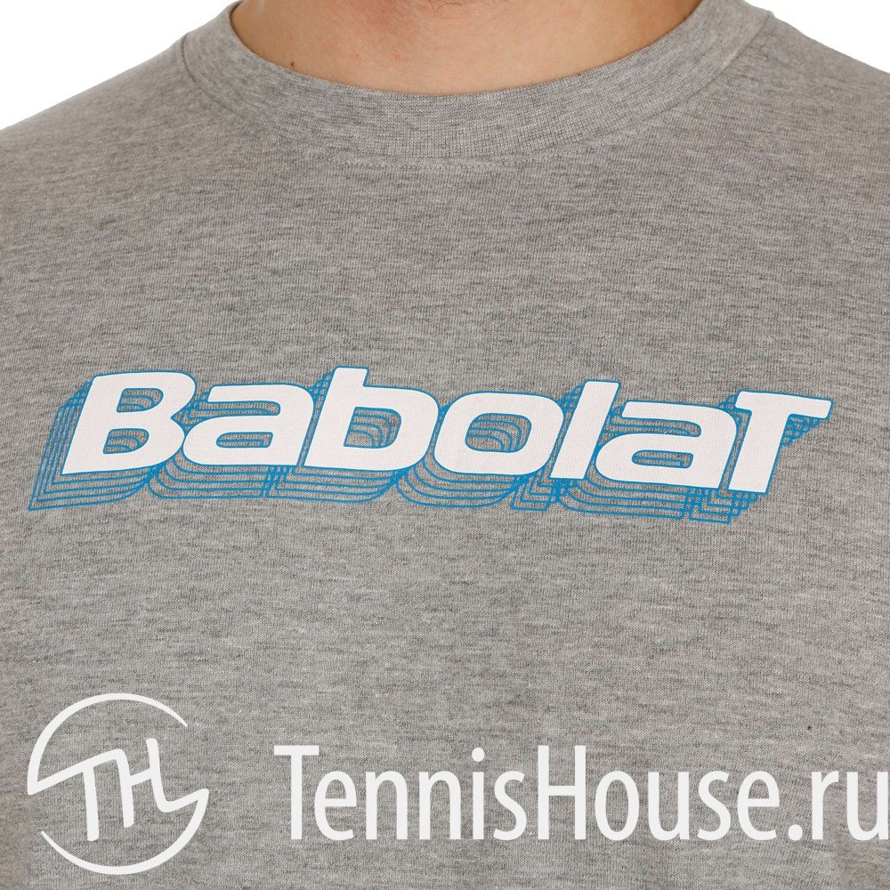 Футболка для мальчиков Babolat Training Basic Цвет Серый 42F1482-107