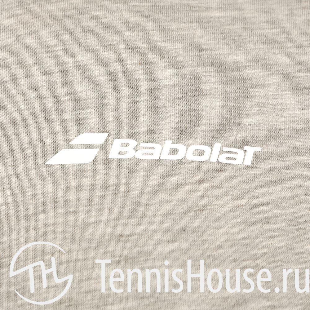 Мужская футболка Babolat Core 2018 Цвет Меланж серый 3MS18014-3002