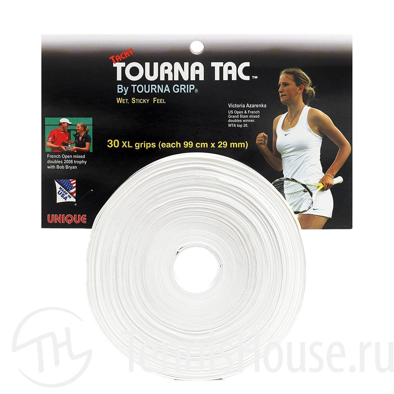 Обмотки Tourna Tac Unique XL 30шт Цвет Белый TC-30XL-101