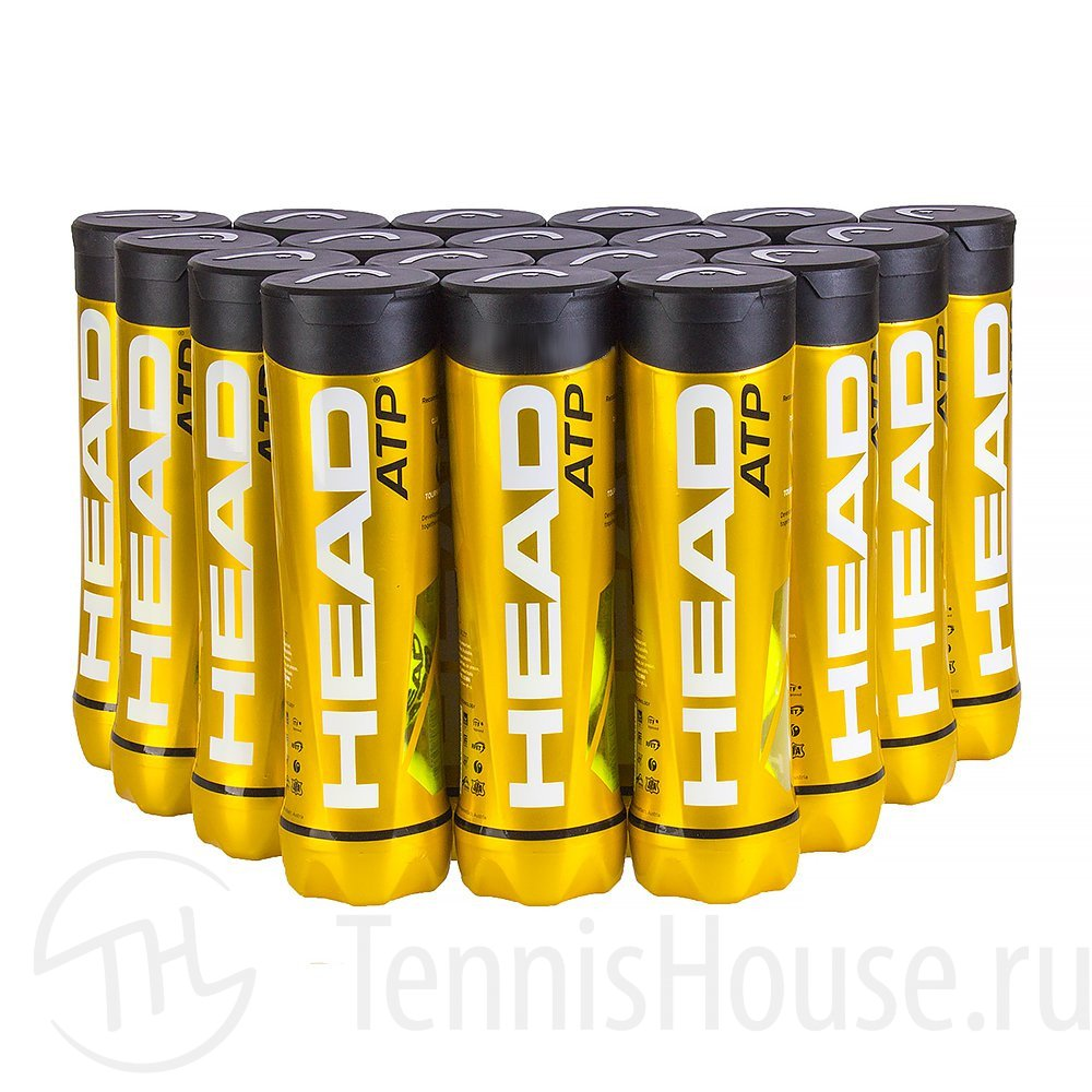 HEAD ATP 4шт - Коробка 72 мяча 570604