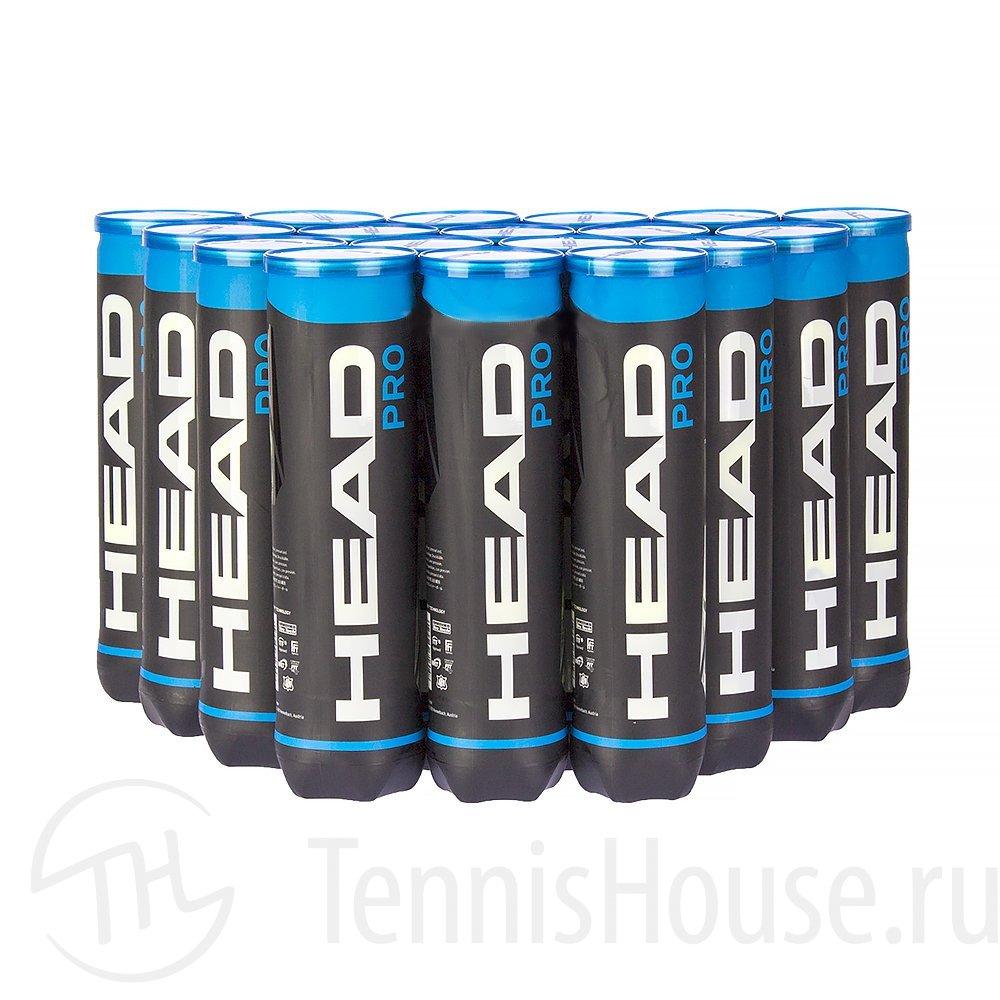 HEAD Pro 4шт - Коробка 72 мяча 571604