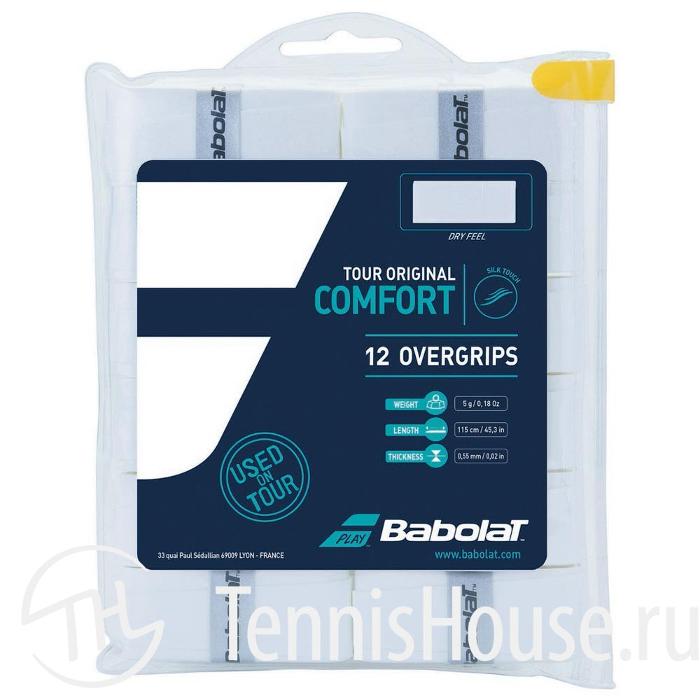 Обмотки Babolat Tour Original 12шт 654012