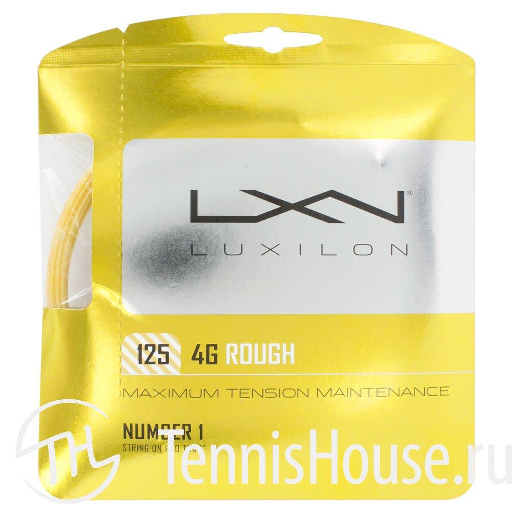 Luxilon 4G Rough 1.25 WRZ997114