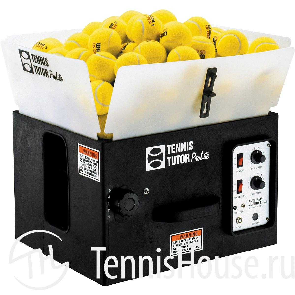 Теннисная пушка Tennis Tutor ProLite Basic, без поворотного механизма 41520